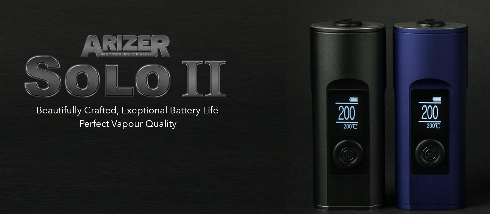 Arizer Solo II Black